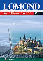 Плёнка Lomond для цветной струйной печати 135мкм. А4, 50л. код 07084151