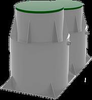 Система очистки бытовых сточных вод продуктивностью 2 м куб/ сутки