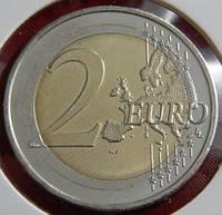 Монета Латвии. 2 евро 2015 год.