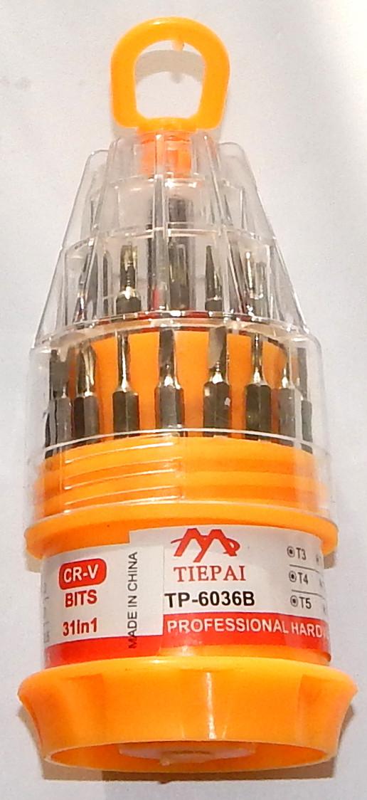 Багатофункціональний комплект викруток TP-6036B
