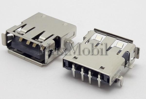 Разъем USB 2.0 U224 мама гнездо