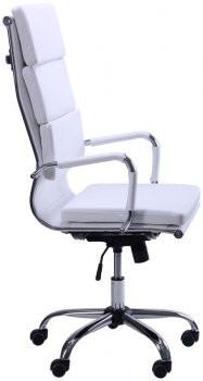 Крісло керівника Slim (Слім) HB FX біле