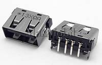 Разъем USB 2.0 U225 мама гнездо