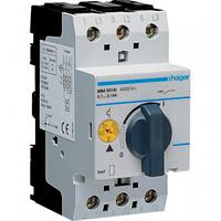 Автомат для защиты двигателя 0,1-0,16A тип К 1 полюс MM501N Hager