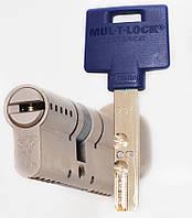 Цилиндр Mul-t-lock Interactive+ 100мм (55х45T) ключ-тумблер никель-сатин