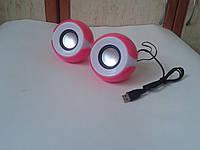 Колонки для ноутбука, ПК, телефона D-06 (5Вт) USB