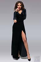 Женское платье бархатное платье Ариэль