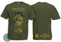 SEPULTURA - Roots - рок-футболка (фирм.)