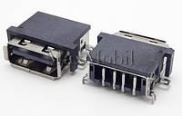Разъем USB 2.0 U228 мама гнездо
