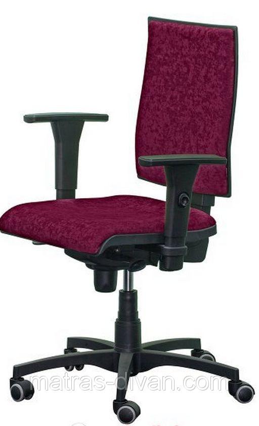 Кресло Маск LB (низкая спинка)тм АМФ Розана ― 32 бордовый.