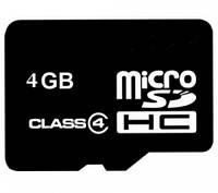 Карта памяти 4Gb (флешка microSDHC TF)
