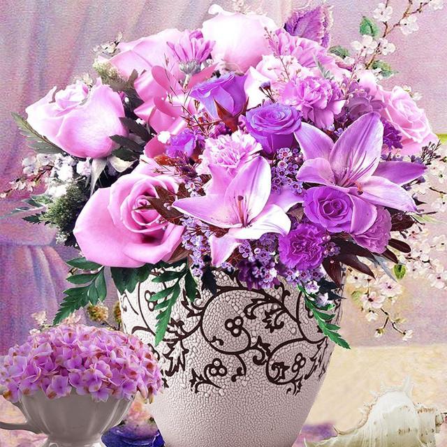 Цветы, цветочные композиции