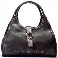 Женская сумка Gucci  кофейная