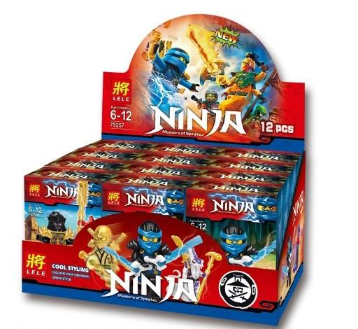 Конструктор Lele серия Ninja / Ниндзя 79257 (12 видов) БЛОК