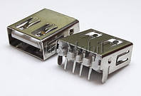 Разъем USB 2.0 U201 мама гнездо