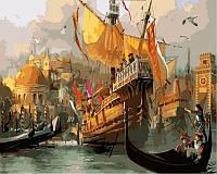 Картины по номерам на холсте 40×50 см. Венеция Время маскарада, фото 1