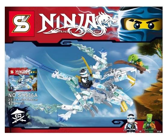 Конструктор Bela Ninja / Ниндзя SY536 AB (Аналог Lego Ninjago)