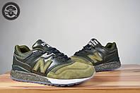 Мужские кроссовки  New Balance 997.5 - Green/White ML997HBB