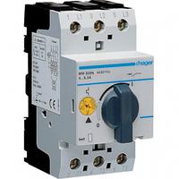 Автомат для защиты двигателя 4,0-6,0A тип К 1 полюс MM509N Hager