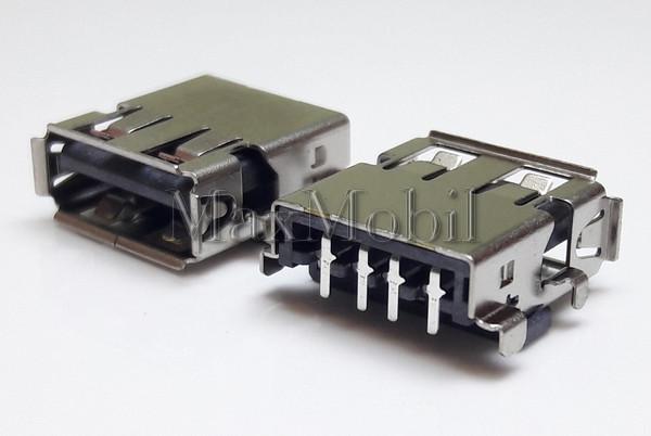 Разъем USB 2.0 U205 мама гнездо