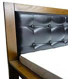 Ліжко двоспальне з натурального дерева в спальню Цезар (бук)160*200 Неомеблі, фото 8