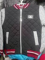 Демисезонная куртка стеганная на мальчика  3-4р