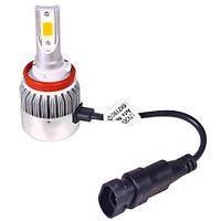 Лампа автомобильная  PULSO С6/LED/H11 PGJ19-2/2*280°COB/12-24v36w/3800Lm/3000K