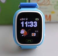 Детские умные часы Q 100 Голубой, фото 1