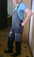 Полукомбинезон рабочий, спецодежда, рабочая одежда, униформа