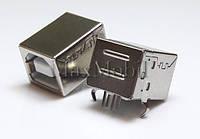 Разъем USB B 2.0 UB01 мама гнездо