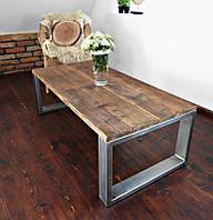 Столик кофейный в стиле лофт