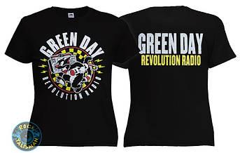 Футболка  женская GREEN DAY Revolution Radio, фото 2