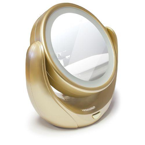 Зеркало косметическое Mesko MS 2164 LED 5x zoom, фото 1