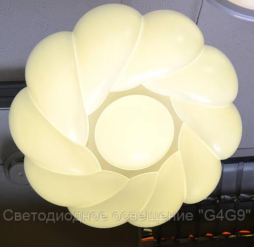 Светильник 24Вт, пластик 45см, режимы Теплый/Холодны
