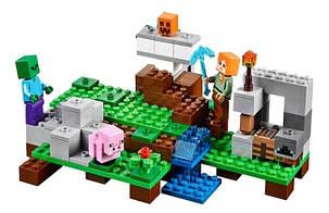 Конструктор Bela 10468 Майнкрафт Железный Голем (аналог Lego Minecraft 21123), фото 2