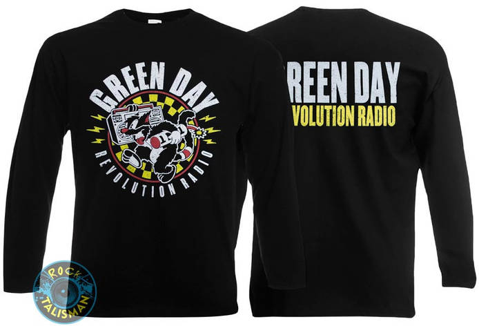 Футболка длинный рукав GREEN DAY - Revolution Radio , фото 2