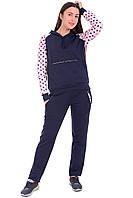Женский спортивный костюм синий, фото 1