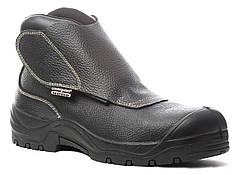 Ботинки защитные S3, жаростойкая подошва, без металла. QUADRUFITE