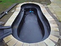 Гидроизоляция геомембранами HDPE и VLDPE, открытых резервуаров для хранения воды, биопрудов и др.