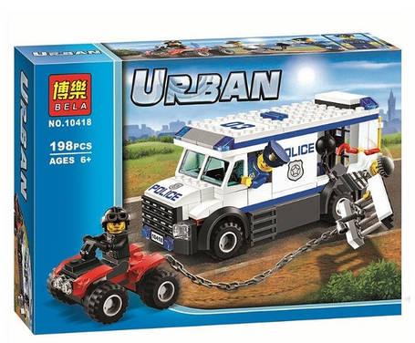 Конструктор Bela 10418 Urban Перевозчик заключённого (аналог Lego City 60043), фото 2