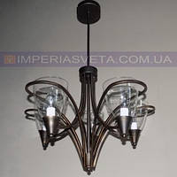 Кованая люстра под старину IMPERIA пятилмповая LUX-540264