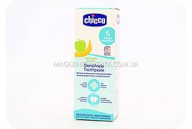 Зубная паста Chicco детская - яблоко/банан, 50 мл