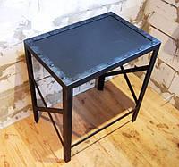 Стол кофейный малый в стиле лофт