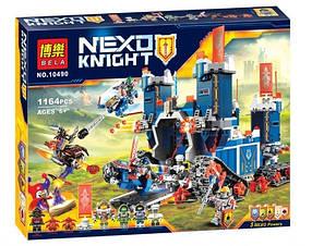Конструктор Bela 10490 Мобильная крепость Фортрекс. Нексо Найтс (Аналог Lego Nexo Knights 70317)