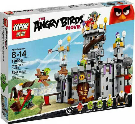 Конструктор Lepin 19006 Энгри Берц Замок Короля свинок (аналог Lego Angry Birds 75826), фото 2