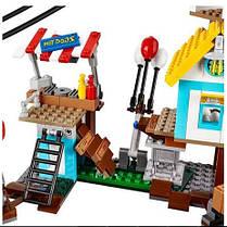 Конструктор Lepin 19004 Энгри бердс Разгром Свинограда (аналог Lego Angry Birds 75824), фото 2