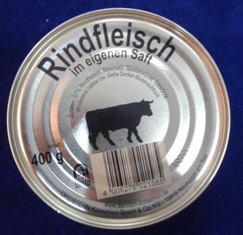 Настоящая немецкая говяжья тушенка. 400 гр.Герман - Germany Markt в Кременчуге