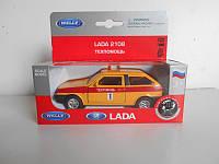 Машинка металлическая LADA 2108