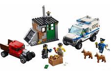 Конструктор Bela 10419 Urban Полицейский фургон с собаками (аналог Lego City 60048), фото 2