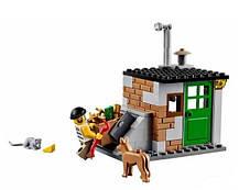 Конструктор Bela 10419 Urban Полицейский фургон с собаками (аналог Lego City 60048), фото 3